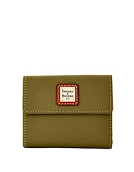 Dooney And Bourke Small Leather Card Wallet Olive