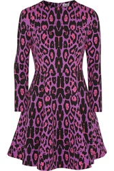 Alice By Temperley Gwen Leopard Print Ponte Dress Animal Print