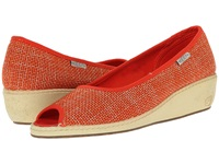 Keen Cortona Wedge Jute Pumpkin Women's Wedge Shoes Orange