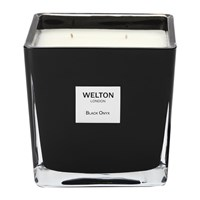Welton London Scented Candle Black Onyx 1.2Kg