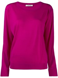 Dorothee Schumacher Cut Out Sweater Pink