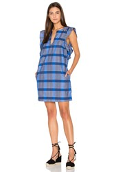 Samandlavi Archer Dress Blue