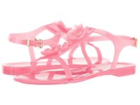 Furla Candy Jelly Sandals T.5 Rose Gomma Fiori Women's Sandals Pink
