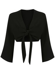 Olympiah Lucca Cropped Blouse Black
