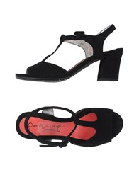 Pas De Rouge Footwear Sandals Women Black