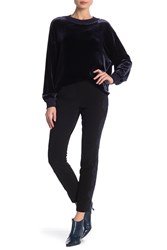 Lafayette 148 New York Lace Embroidered Pants Black