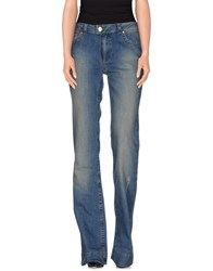 Red Valentino Redvalentino Denim Denim Trousers Women Blue