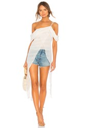 The Jetset Diaries Twiggy Maxi Top Ivory