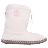 Bedroom Athletics Monroe Faux Fur Slipper Boots Cream