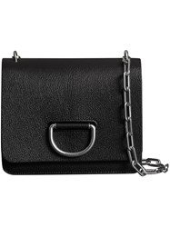 Burberry The Small Leather D Ring Bag Black