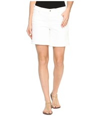 Lucky Brand The Roll Up Shorts In White White Women's Shorts