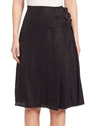 Creatures Of The Wind Sacro Pleated Skirt Black