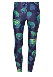 Roxy Relay Tights Jellyfish Seas Blue