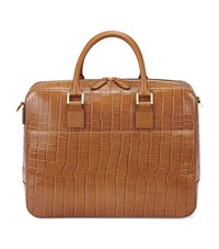 Aspinal Of London Mount Street Tech Large Briefcase Unisex