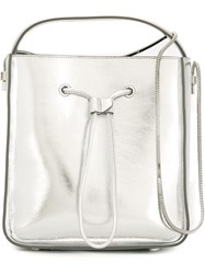 3.1 Phillip Lim Anniversary Special Small 'Soleil' Bucket Bag Metallic