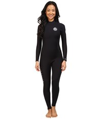 Rip Curl Dawn Patrol 4 3 Gb Back Zip St Black Women's Wetsuits One Piece