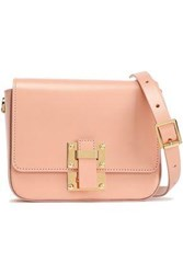 Sophie Hulme Woman Small Quick Leather Shoulder Bag Peach