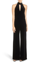 7 For All Mankindr Women's Mankind Velvet Halter Jumpsuit