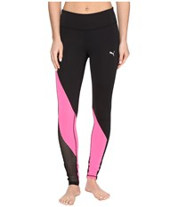 Puma Explosive Tights Black Knockout Pink Women's Workout