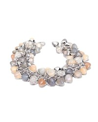 Tamara Comolli Mikado Diamond And Moonstone Cabochon Bracelet