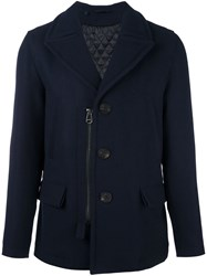 Lanvin Zip Accent Peacoat Blue
