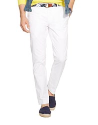 Polo Ralph Lauren Slim Fit Stretch Chino Pants White