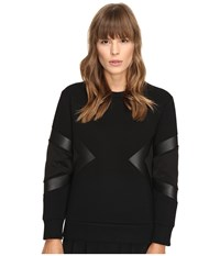 Neil Barrett Modernist Slim Regular Sweatshirt Black Women's Sweatshirt