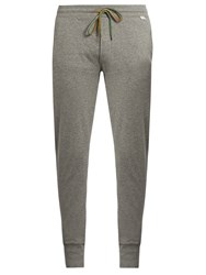 Paul Smith Tapered Cotton Jersey Pyjama Trousers Grey