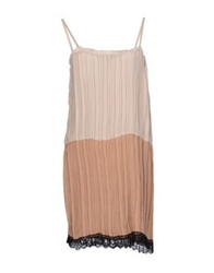 Jucca Short Dresses Beige