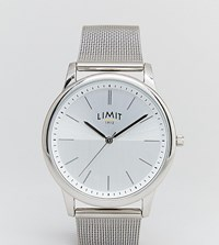 Limit Silver Mesh Watch Exclusive To Asos