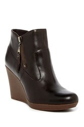 Ugg Meredith Genuine Shearling Lined Wedge Bootie Brown
