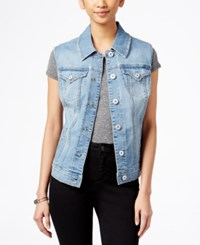 Styleandco. Style And Co. Star Wash Denim Vest Only At Macy's