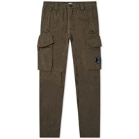 C.P. Company Garment Dyed Lens Pocket Cargo Pant Green