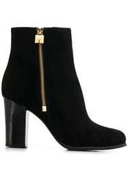 Michael Michael Kors High Heel Ankle Boots Black