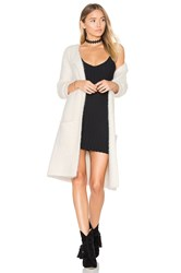 Sanctuary Super Soft City Coat Ivory
