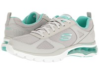 Skechers Skech Air Cloud Gray Mint Women's Shoes