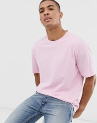 New Look Oversized T Shirt In Pink