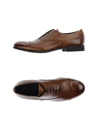 Raparo Lace Up Shoes Brown