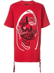 Haculla Worse Than Death T Shirt Cotton Xs Red