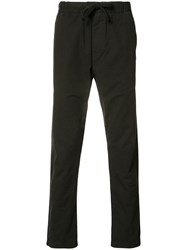 Obey Drawstring Trousers Blue