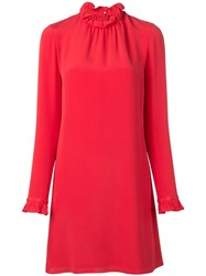 Goat Hibiscus Tunic Dress Red