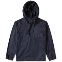 Tomorrowland Satin Pullover Parka Blue