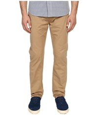 Jack Spade Stonehill Slim Fit Five Pocket Trousers Dark Khaki