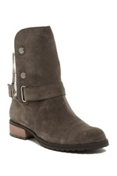 Matt Bernson Tundra Genuine Shearling Lined Bootie Gray