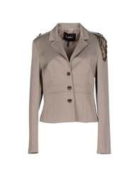Byblos Suits And Jackets Blazers Women Khaki