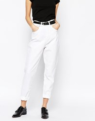 Dr. Denim Dr Denim Nora Mom Jeans White