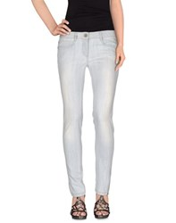 Dek'her Denim Denim Trousers Women Blue