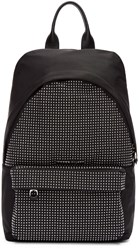 Mcq By Alexander Mcqueen Black Nylon Studded Backpack