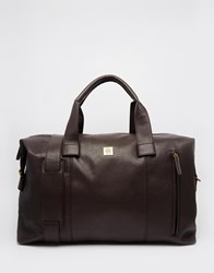 French Connection Holdall Brown