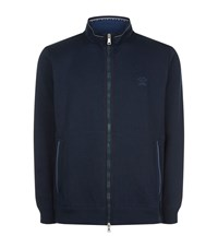 Paul And Shark Full Zip Jumper Male Midnight